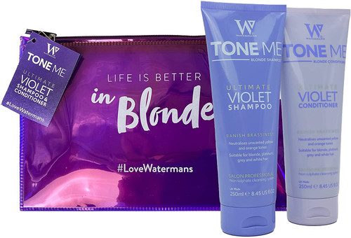Watermans Tone Me Ultimate Violet Shampoo and Conditioner set