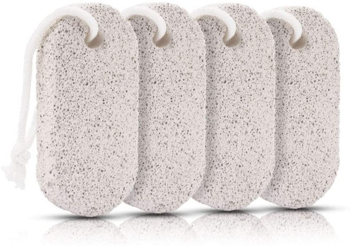 Soften and Remove Dead Skin Natural Lava Pumice Stone-4 Pack