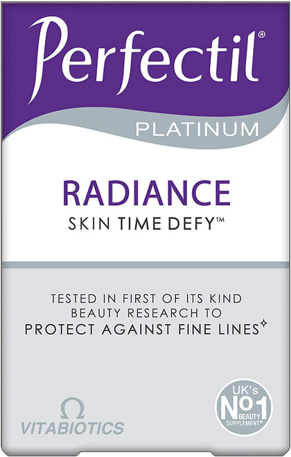 Vitabiotics Perfectil Platinum Radiance Skin Time Defy - 60 Tablets