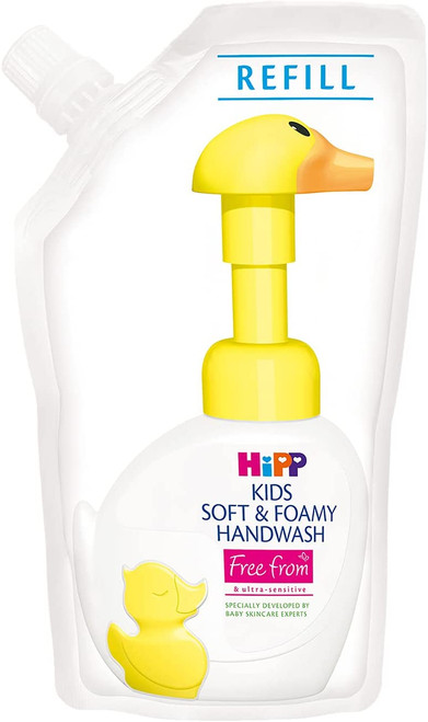 HiPP Kids Soft and Foamy Refill Hand Wash -Pack of 6