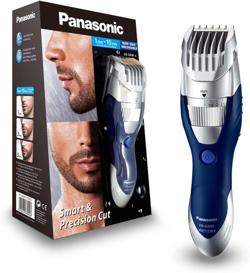Panasonic Wet and Dry Stuble Style Electric Beard Trimmer- ER-GB40