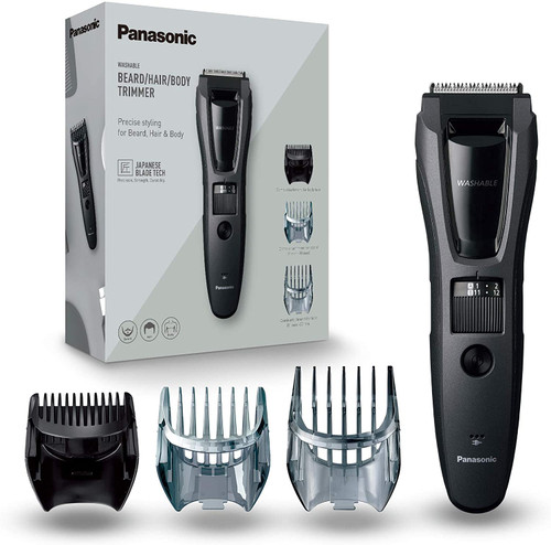 Panasonic Wet and Dry Stuble Style Electric Beard Trimmer- ER-GB62