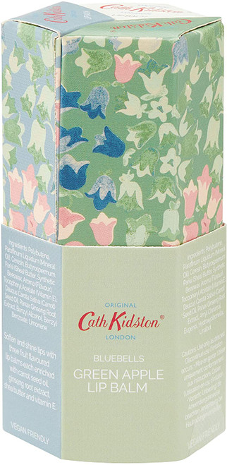 Cath Kidston Beauty Bluebells Lip Balms In Assorted Flavours-3 X 15Ml