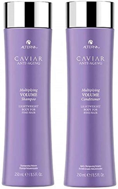 Alterna Multiplying Volume Caviar Anti Aging Bodybuilding Shampoo and Conditioner