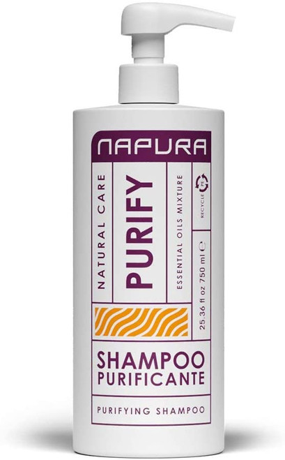 Napura Purify Cleansing Hair and Sebum Regulating Shampoo - 750ml