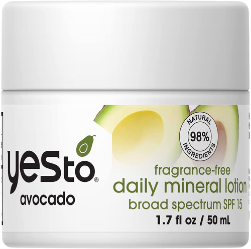 YES TO Avocado Fragrance-Free Daily Mineral Lotion - 50ml