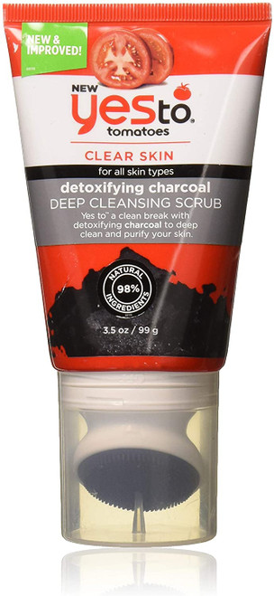 Yes To Tomatoes Clear Skin Deep Cleansing Scrub - 99g