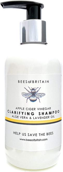 BEES of BRITAIN Apple Cider Vinegar Clarifying Shampoo -250ml