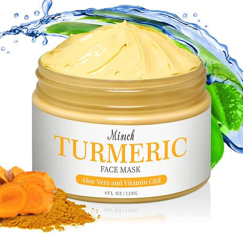 MISICH Turmeric Vitamin C and Aloe Vera Clay Mask - 120g