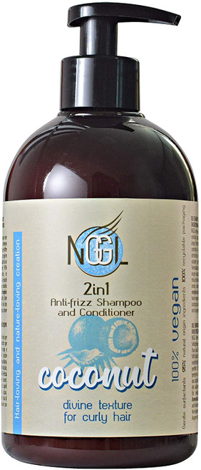 NGGL 2in1 Shampoo and Conditioner with Coconut Divine Texture- 500ml