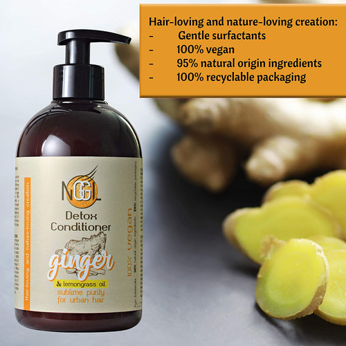 NGGL 2in1 Purity Shampoo and Conditioner with Ginger Extract - 500ml