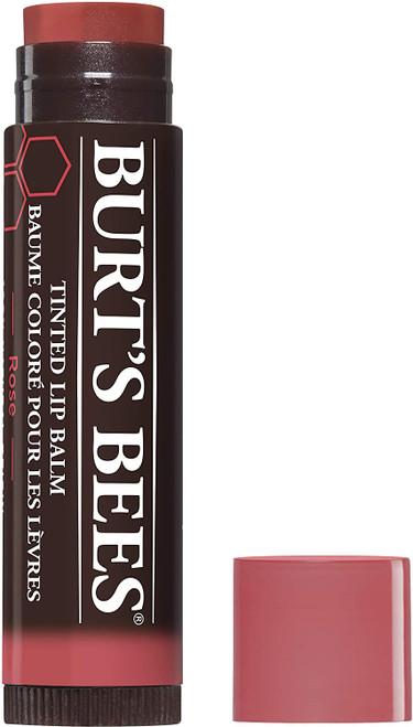 Burts Bees Natural Tinted Lip Moisturising Balm - Rose