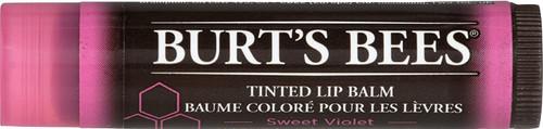 Burts Bees Natural Tinted Lip Moisturising Balm - Sweet Violet