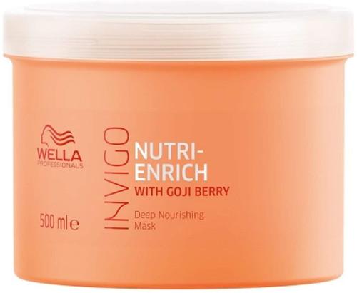 Wella Invigo Nutri-Enrich Nourishing Hair Mask with Goji Berry - 500ml