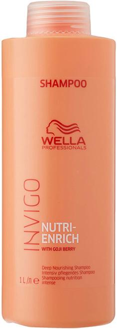 Wella Invigo Nutri-Enrich Nourishing Shampoo with Goji Berry - 1000ml