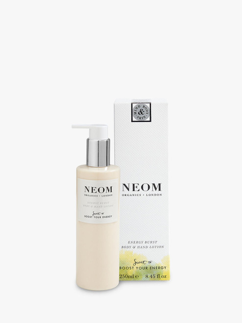 Neom Organics London Body & Hand Lotion Energy Burst-250ml