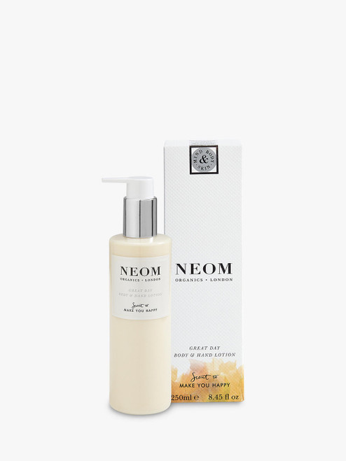 Neom Organics London Body & Hand Lotion for Great Day-250ml