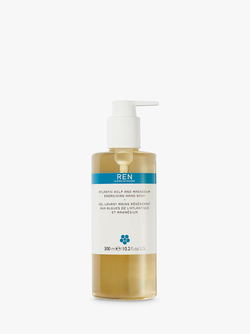 REN Atlantic Energising Kelp And Magnesium Salt Hand Wash-300ml