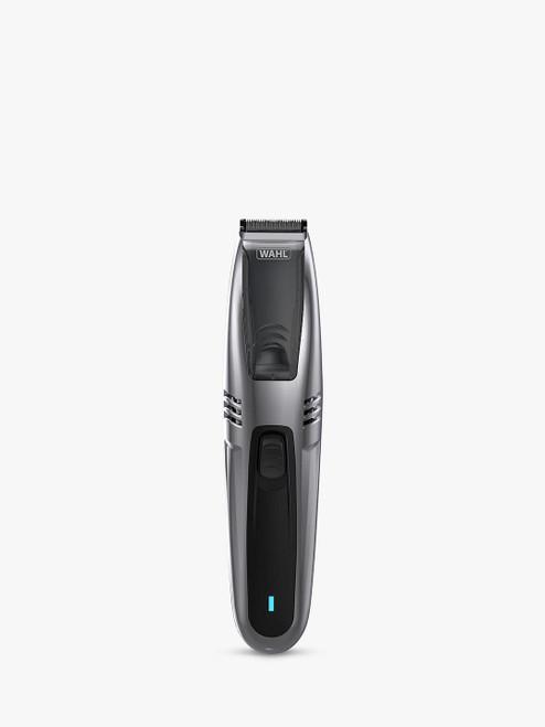 Wahl 2 in 1 Black Vacuum Stubble & Beard Trimmer