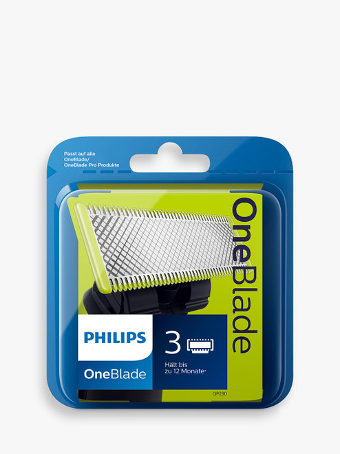 Philips QP230/50 Pack of 3 OneBlade Replacement Blades