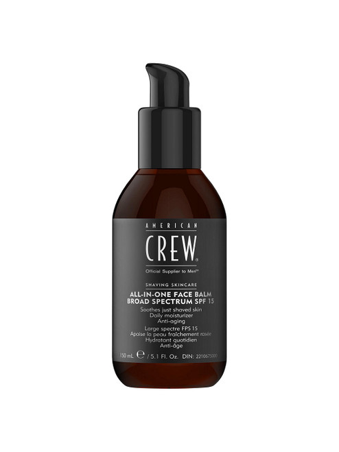 American Crew 150ml All-In-One Face Balm Broad Specture SPF 15