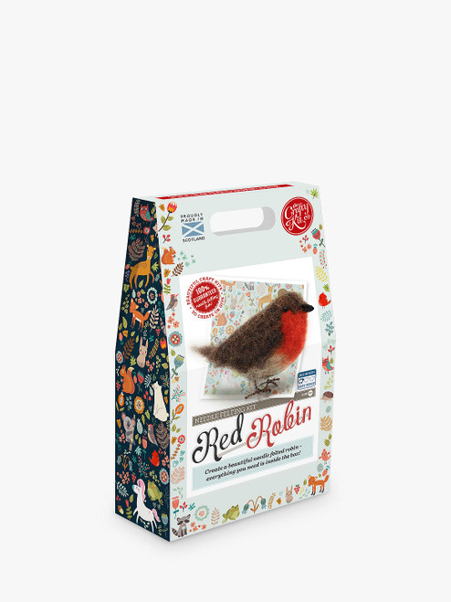 Felt Your Own Robin Craft Kit The Crafty Kit Company