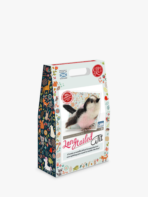 Felt Your Own Long Tailed Tit Craft Kit The Crafty Kit Company