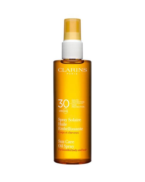 Clarins SPF 30 Sun Care Oil Mist for Body and Hair-150ml