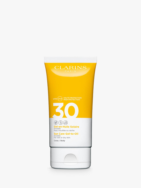 Clarins SPF 30 Sun Care Gel-To-Oil for Body-150ml