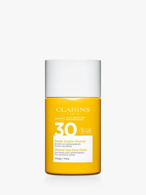 Clarins SPF 30 Mineral Sun Care Fluid Face-30ml