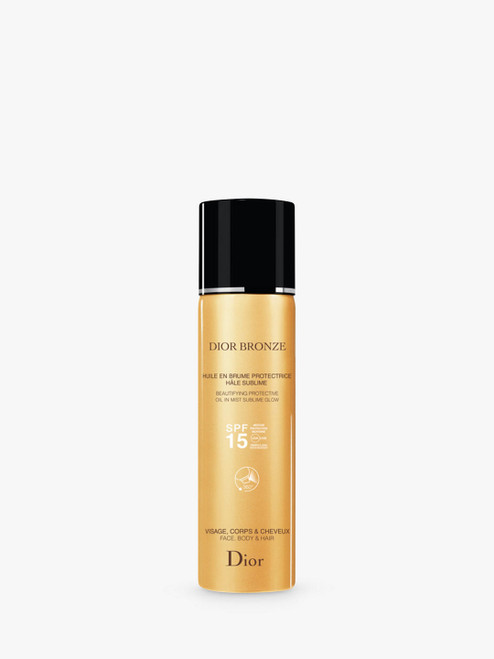 Dior Bronze Beautifying Protective Oil in Mist Sublime Glow 125ml SPF 15
