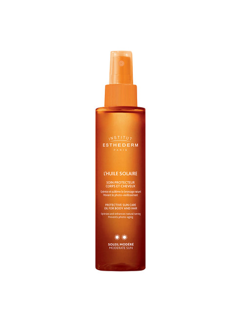 Institut Esthederm Protective Sun Care Oil Body and Hair Moderate Sun-150ml