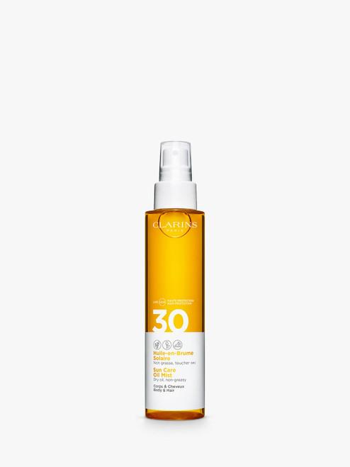 Clarins Sun Care Oil Mist for Body and Hair 150ml SPF 30