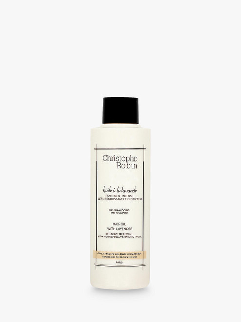 Christophe Robin 150ml Moisturising Hair Oil with Lavender