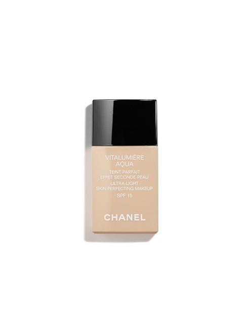 CHANEL SPF 1591 Caramel Vitalumière Aqua Ultra-Light Skin Perfecting Makeup-30ml