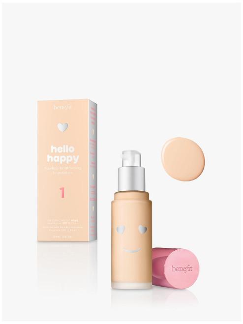 Benefit 1 SPF 15 Hello Happy Flawless Brightening Foundation-30ml