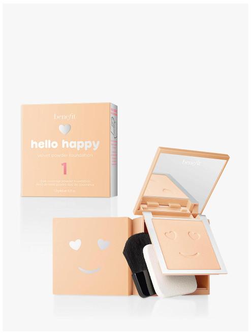 Benefit 1 Hello Happy Velvet Powder Foundation-7g