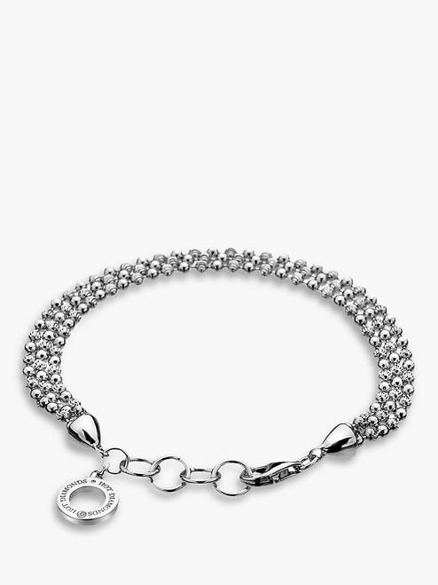 Hot Diamonds Silver Sterling Silver Bead Bracelet