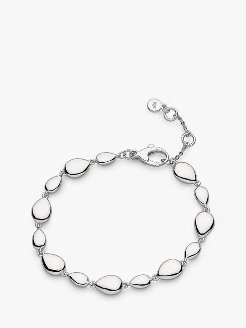 Kit Heath Silver Coast Pebbles Bracelet