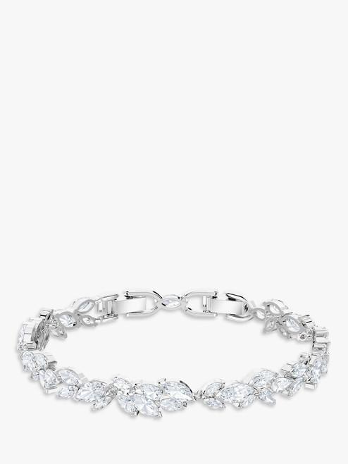 Swarovski Silver/Clear Louison Crystal Bracelet
