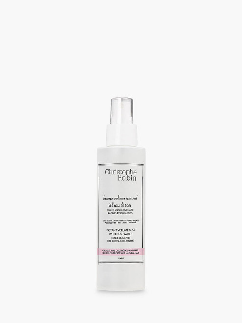 Christophe Robin with Rose Water- Delicate Instant Volumising Mist-150ml