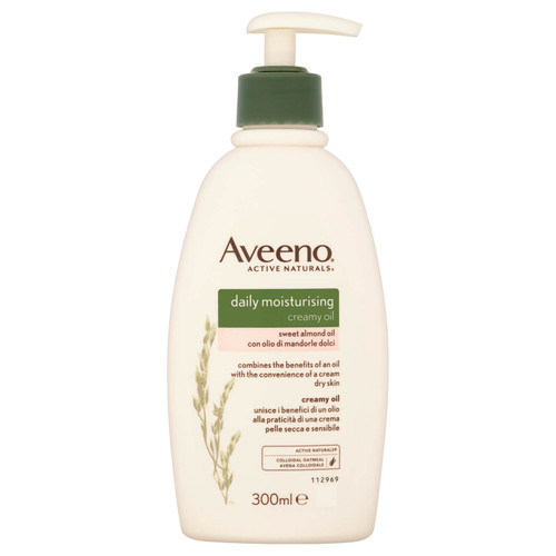 Aveeno Creamy Daily Moisturising Oil-300ml