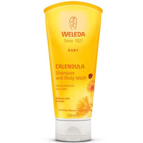 Weleda Baby Calendula Shampoo and Body Wash-200ml