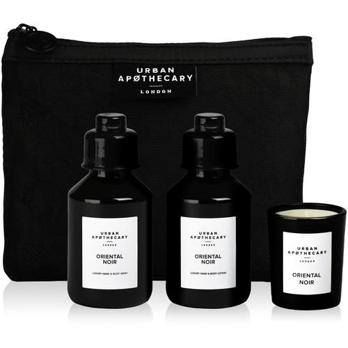 Urban Apothecary Oriental Noir Gift Set 3 Pieces Luxury Bath and Fragrance