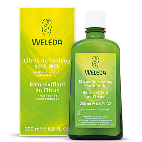 Weleda Citrus Refreshing Bath Milk-200ml