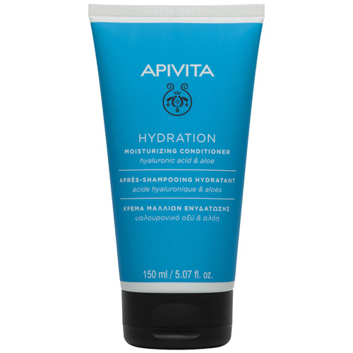 APIVITA Hyaluronic Acid & Aloe Holistic Hair Care Moisturizing Conditioner for All Hair Types-150ml