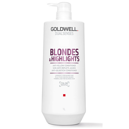 Goldwell Dualsenses Blonde and Highlights Anti-Yellow Conditioner-1000ml