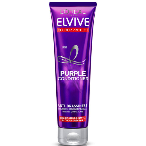 L'Oréal Paris Elvive Colour Protect Anti-Brassiness Purple Conditioner-150ml