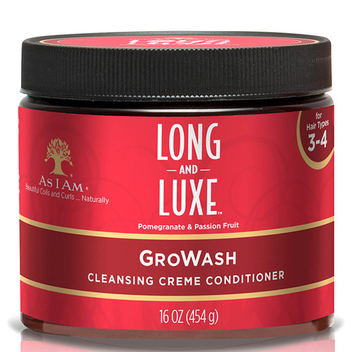 As I Am Long and Luxe Gro Wash Conditioner-454g