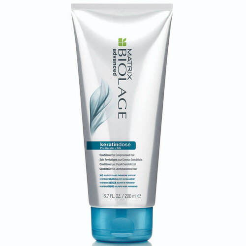 Biolage for Damaged Hair Advanced KeratinDose Damage Care Conditioner Nourishing Conditioner-200ml